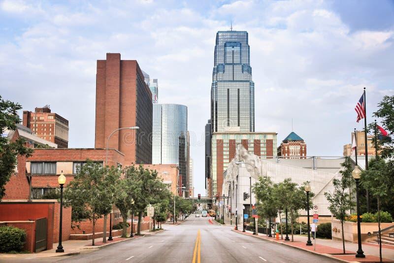 Kansas city w stanie Missouri obraz stock