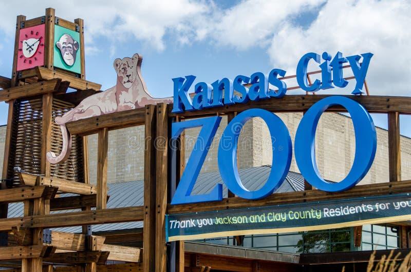 Kansas Ctiy zoo royaltyfria foton