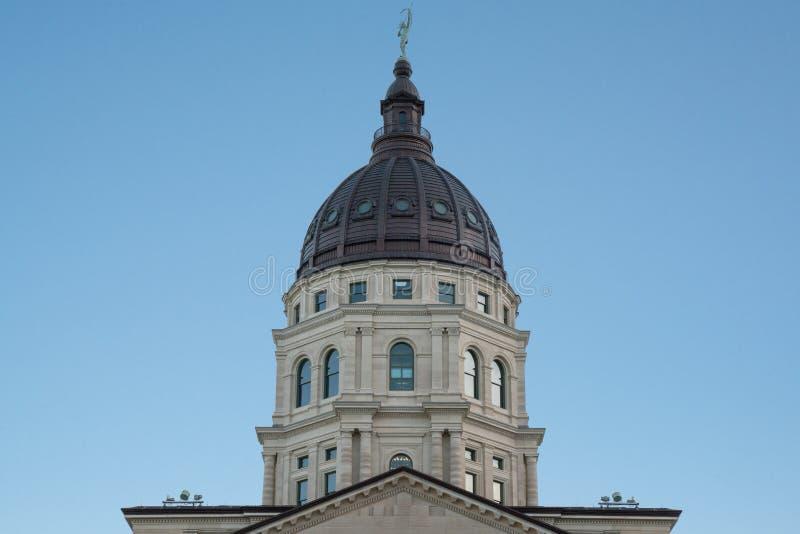 Kansas huvudstadkupol arkivfoton