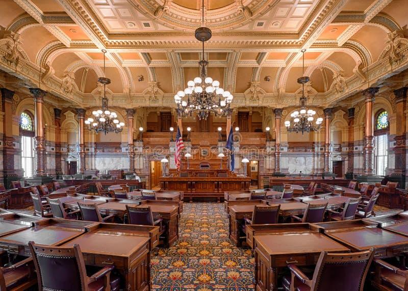Kansas senatkammare arkivbilder