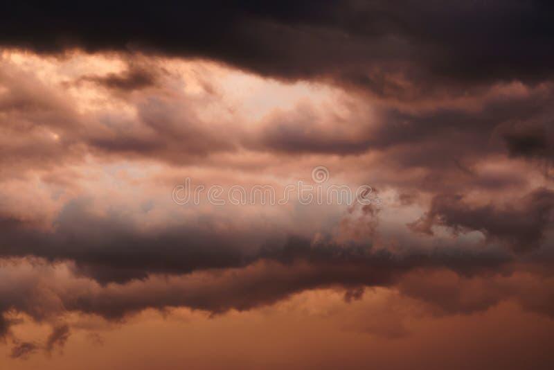 Kansas stormigt väder royaltyfri foto