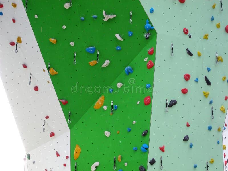 Kant av klättringväggen royaltyfria bilder