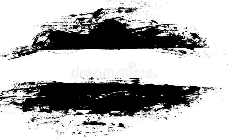 kant borstad ramvektor stock illustrationer