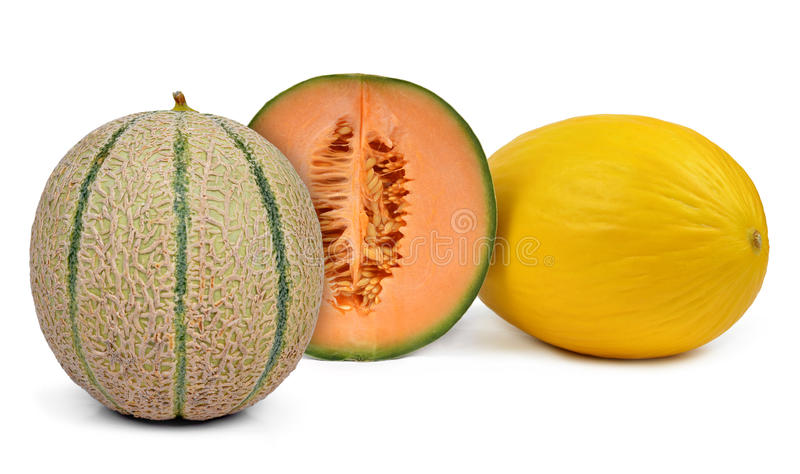 Kantaloepmeloen stock fotografie