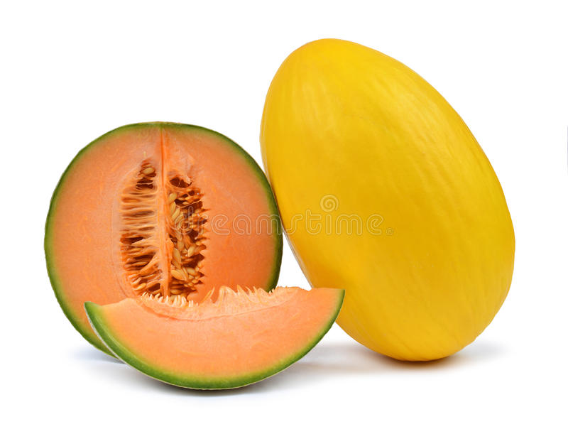 Kantaloepmeloen stock foto