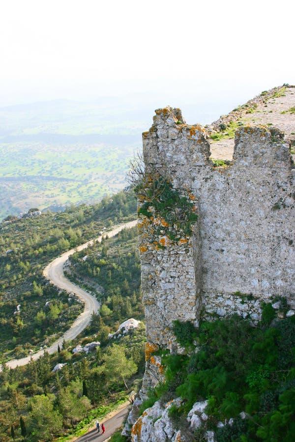 Kantara castle stock photography