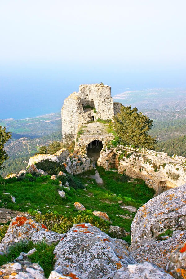 Kantara castle royalty free stock images