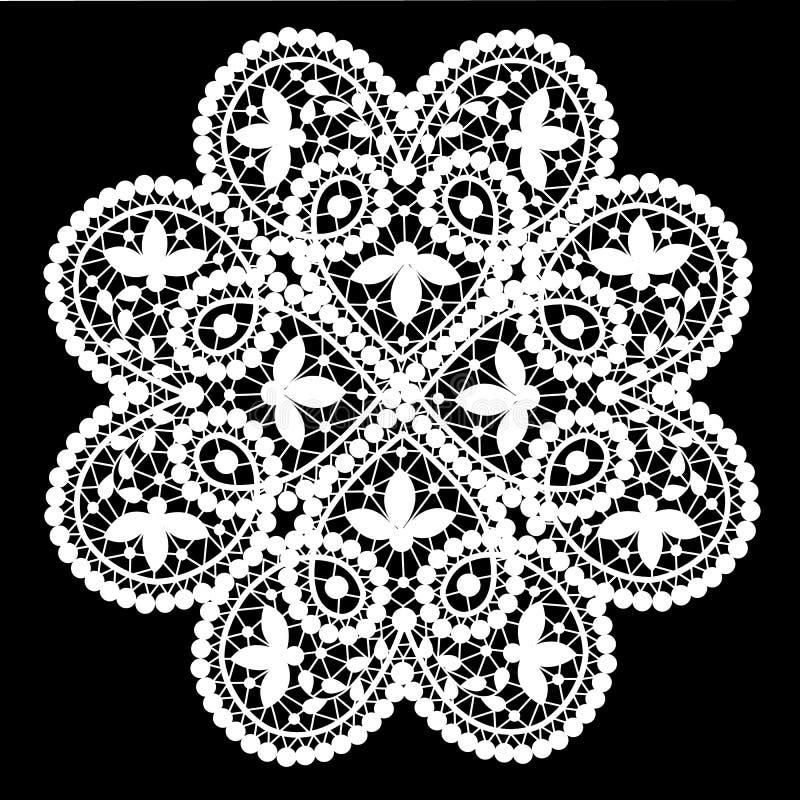 Kantdoily royalty-vrije illustratie