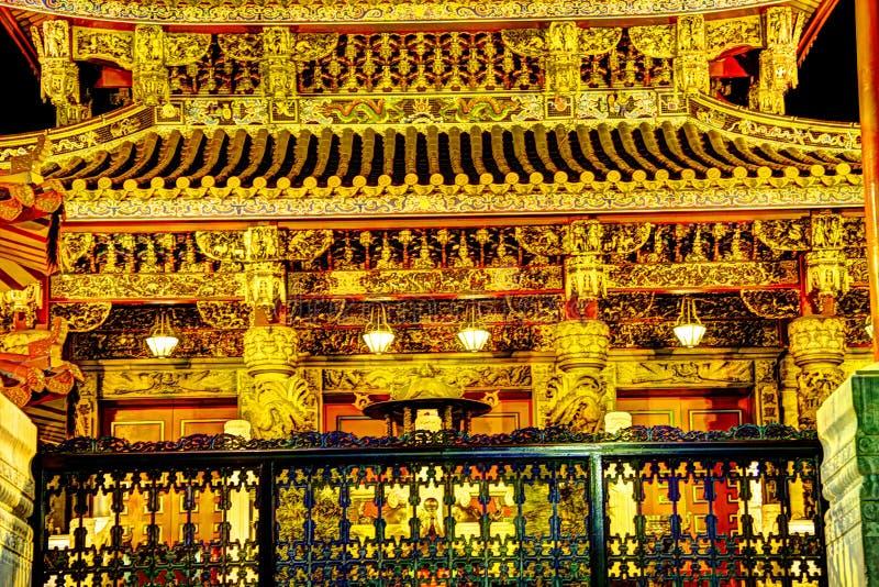 Kanteibyo (Kuan Ti Miao Temple). The Kanteibyo (Kuan Ti Miao Temple) in the China Town district of Yokohama royalty free stock images