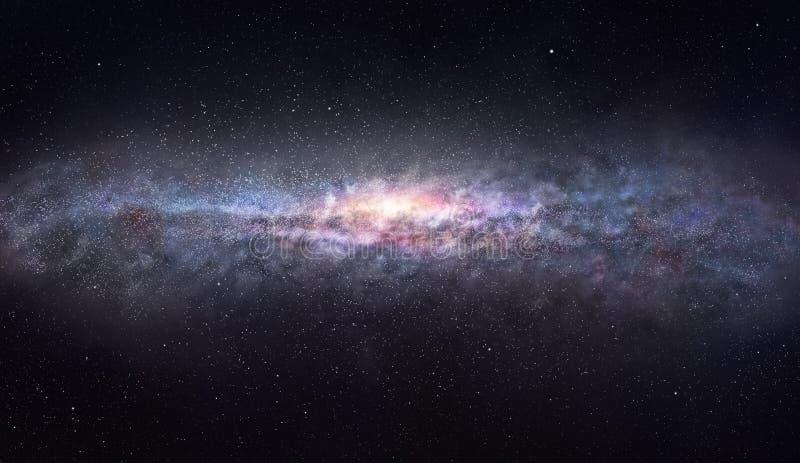Kanten av galaxen arkivfoton