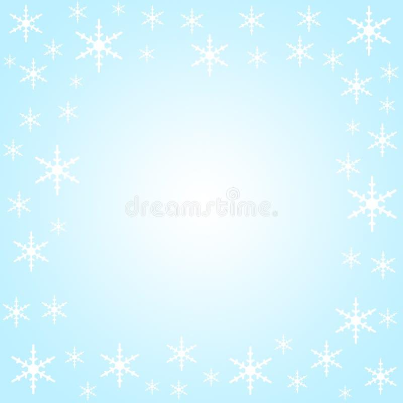 kanten flagar snow stock illustrationer