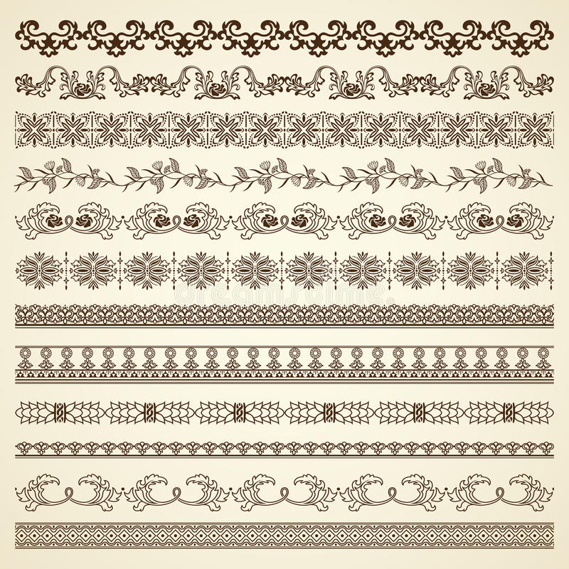 kanter royaltyfri illustrationer