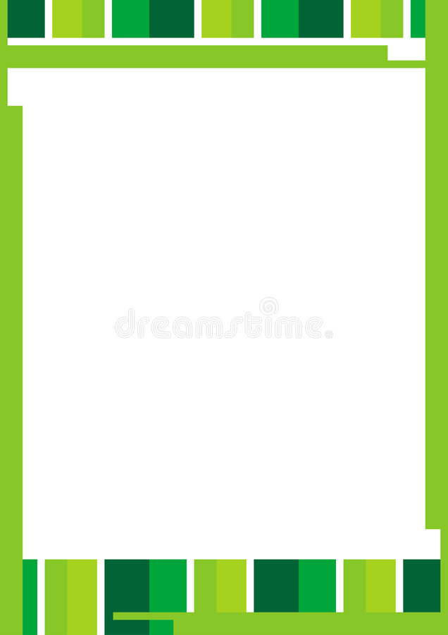 kantfärglinje royaltyfri illustrationer