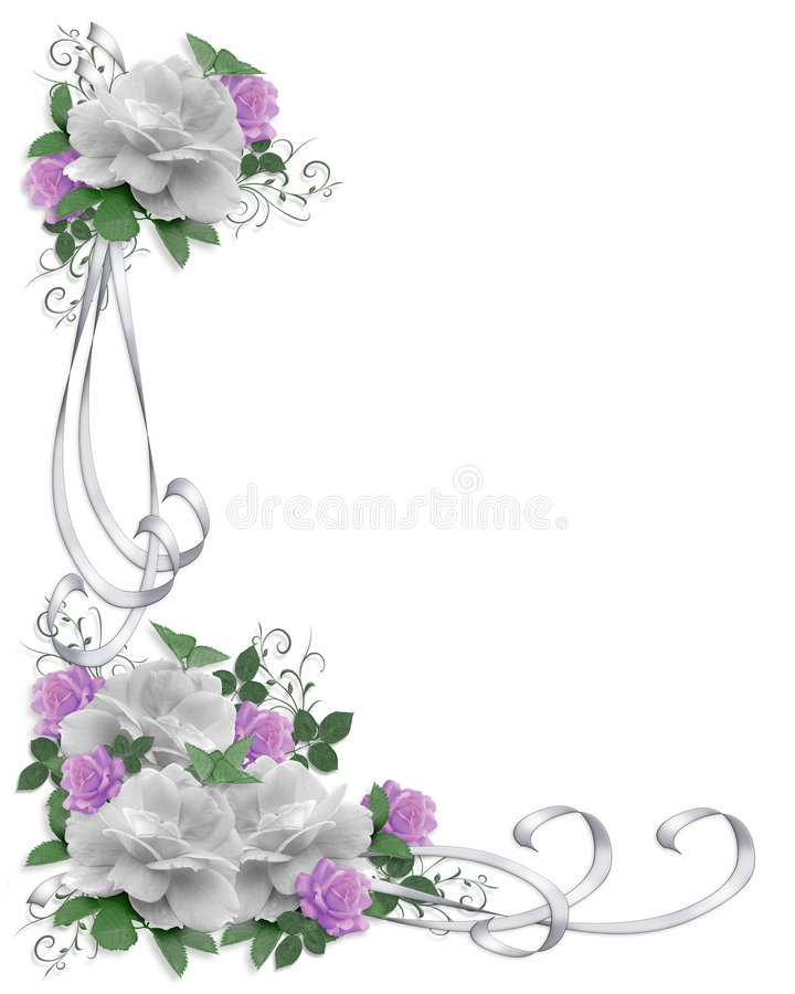 kantinbjudanro som gifta sig white vektor illustrationer