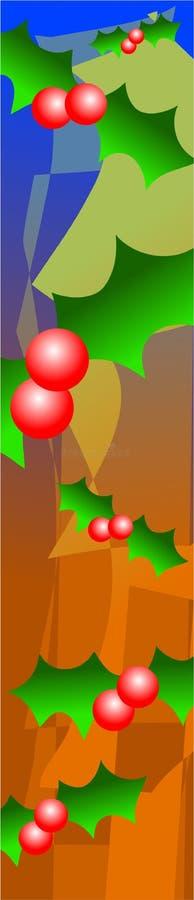 kantjärnek vektor illustrationer