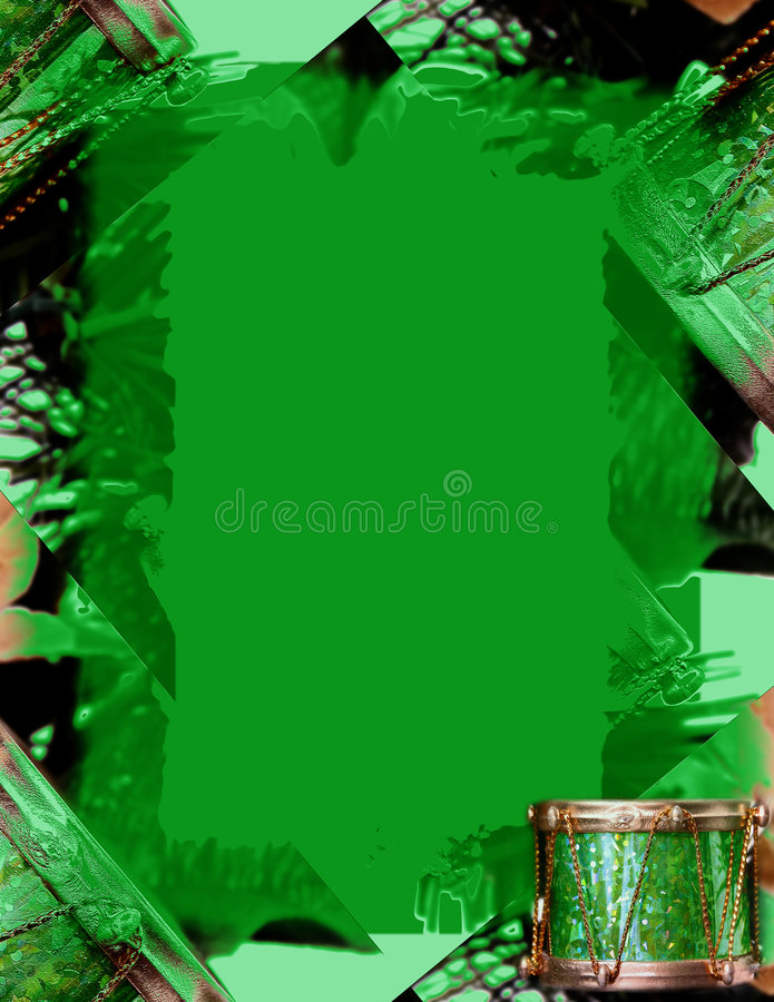 Download Kantjulgreen stock illustrationer. Bild av xmas, prydnad - 33709