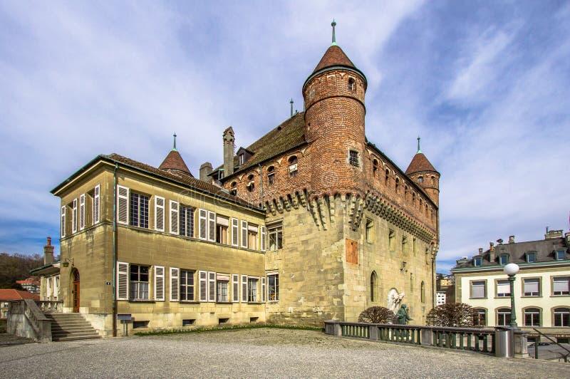 Kanton Vaud i Lausanne Schweiz royaltyfri bild