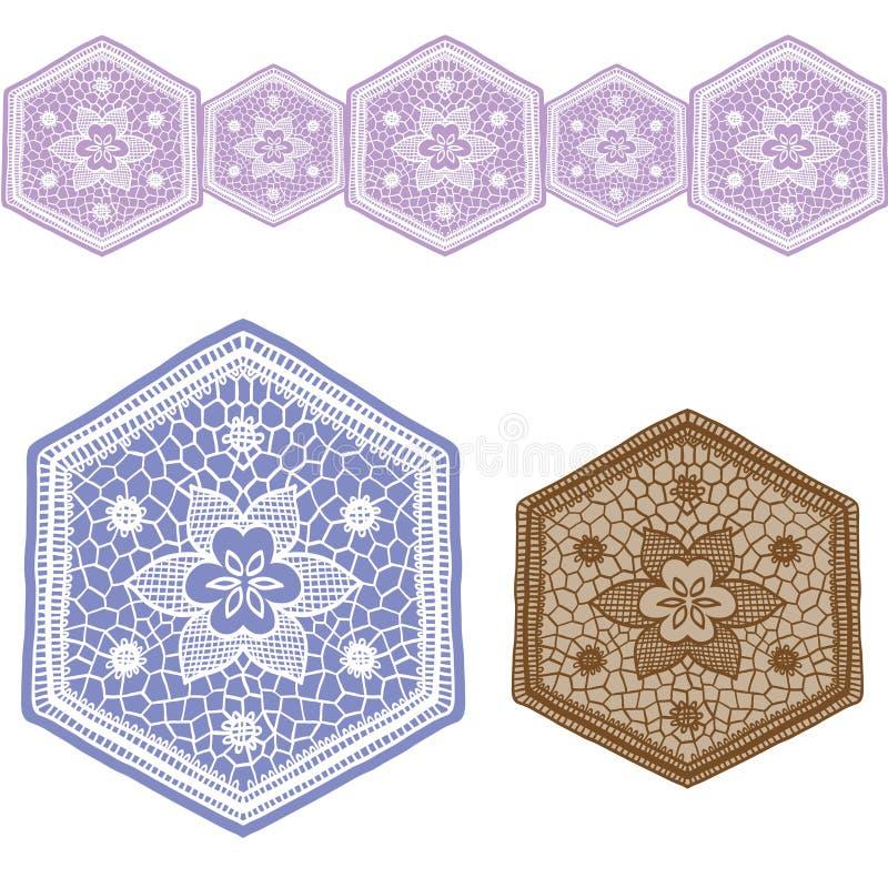 Kantontwerp set1 vector illustratie