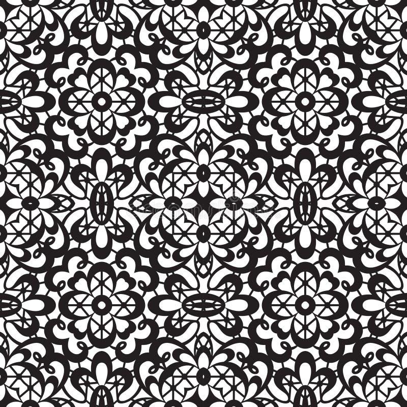 Kantpatroon vector illustratie