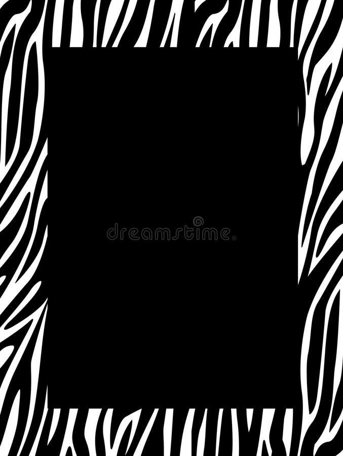 kanttrycksebra stock illustrationer