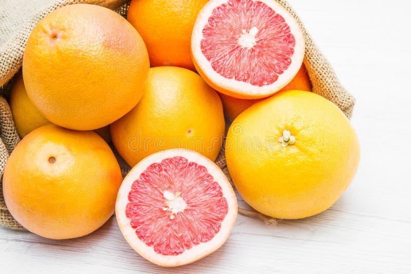Kanwy workowy pełny grapefruitowy zdjęcia royalty free