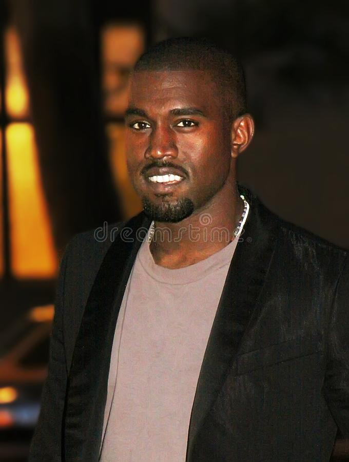 Kanye West photographie stock