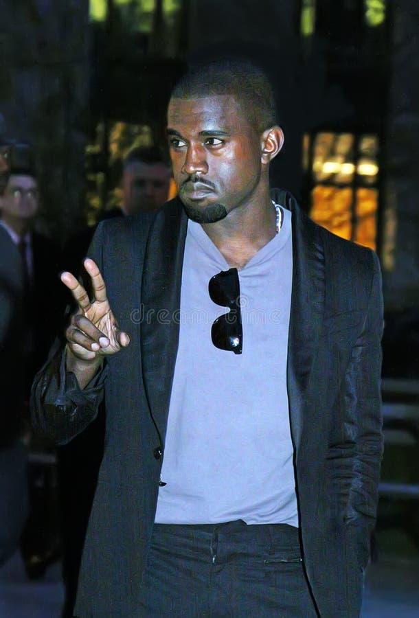 Kanye West imagem de stock royalty free