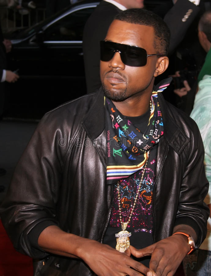 Kanye West foto de stock royalty free