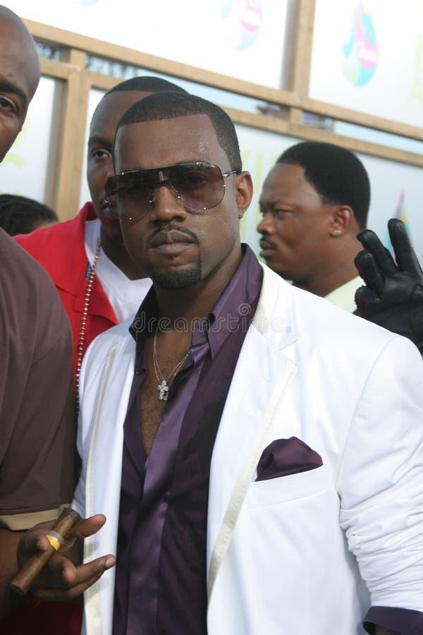 Download Kanye West redaktionelles stockfotografie. Bild von bildschirm - 26358247
