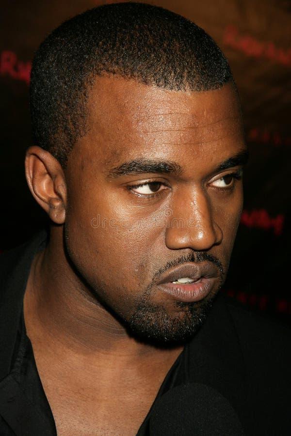 Kanye West fotografia stock libera da diritti