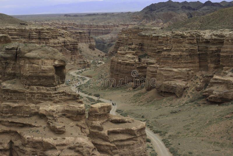 Kanyon Sharyn obraz stock