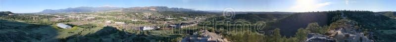 Kanzel-Felsen übersehen Colorado-Westside lizenzfreies stockfoto