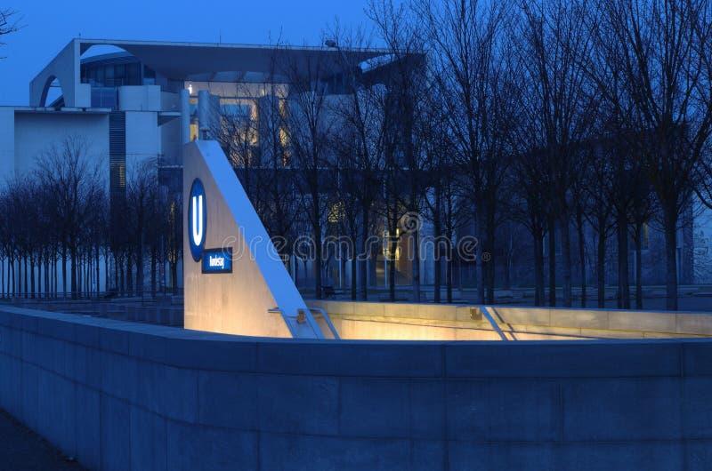 Kanzleramtgebäude stockfoto