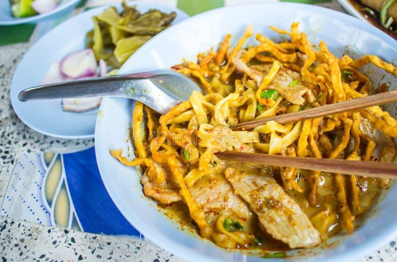 Kao大豆,泰国面条样式 库存照片