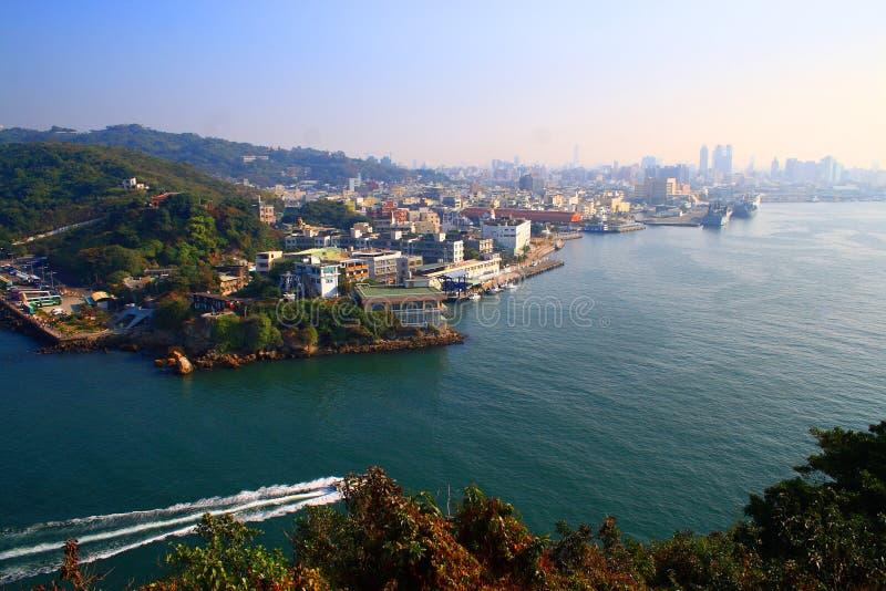 kaohsiung port zdjęcie royalty free