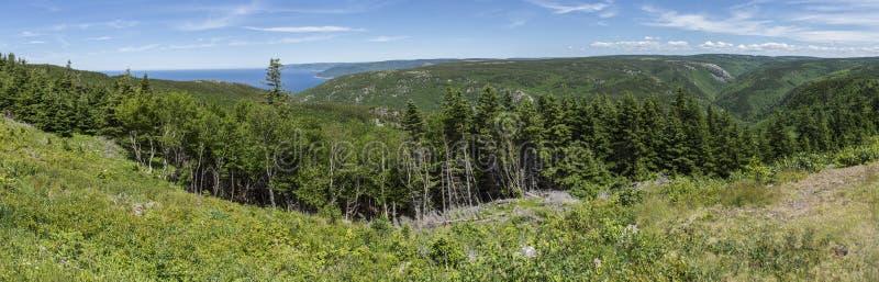 Kap-Breton-Insel panoramisch lizenzfreies stockbild