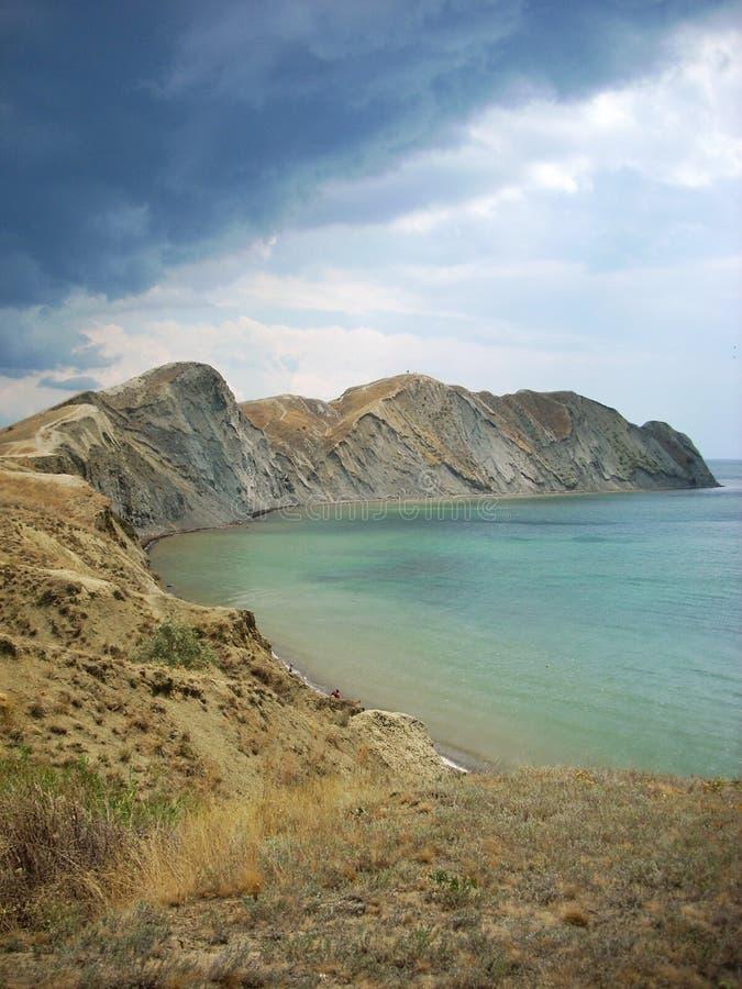 Kap-Chamäleon in Krim lizenzfreie stockbilder