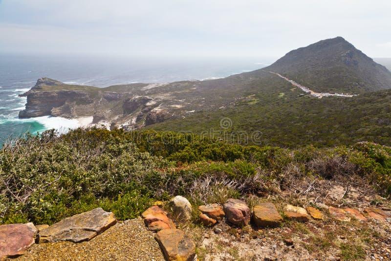 Kap der guten Hoffnung nahe Kapstadt stockbilder