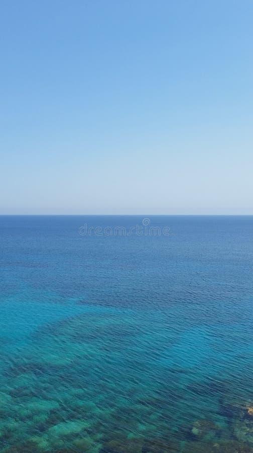 Kap Greko-Meer in Zypern stockfotografie
