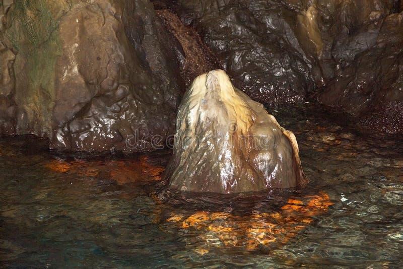 Kap Palinuro-Höhle, Italien stockfotos
