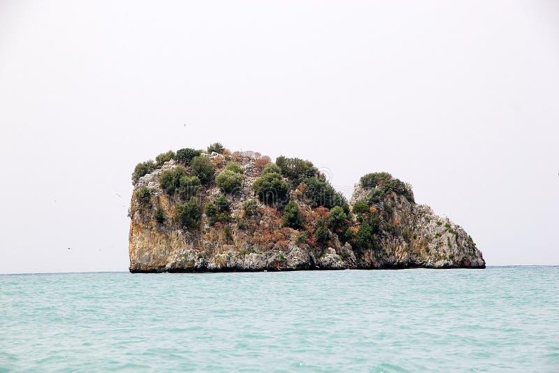 Kap Palinuro, Italien stockbilder