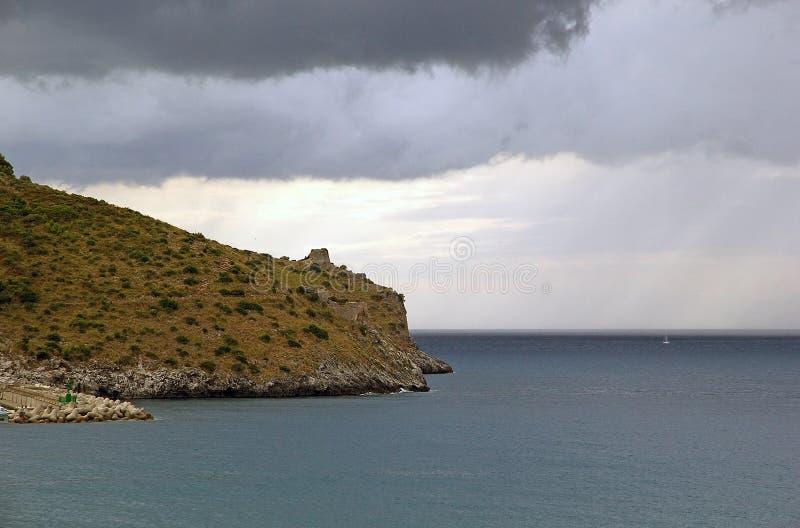 Kap Palinuro, Italien lizenzfreie stockbilder