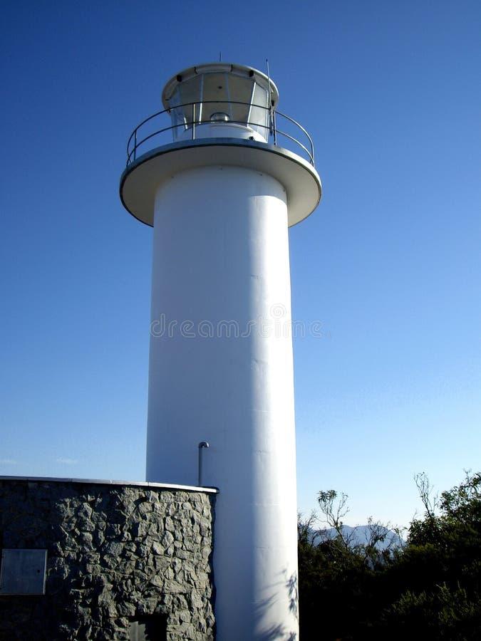 Kap Tourville-Leuchtturm lizenzfreie stockfotografie