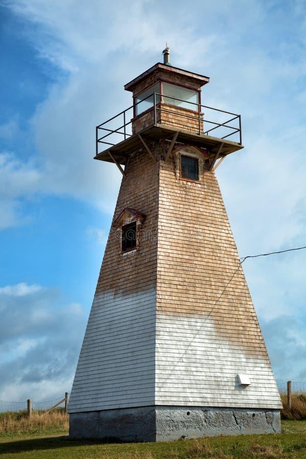 Kap Tryon-Leuchtturm in Insel Prinzen Edward lizenzfreies stockbild
