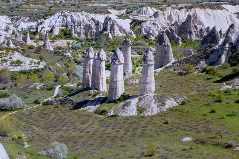 Kapadokia Anatoly Turkey photographie stock libre de droits