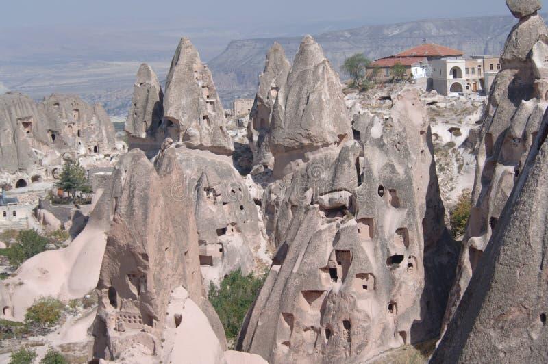 Kapadokya, Turkije II royalty-vrije stock fotografie