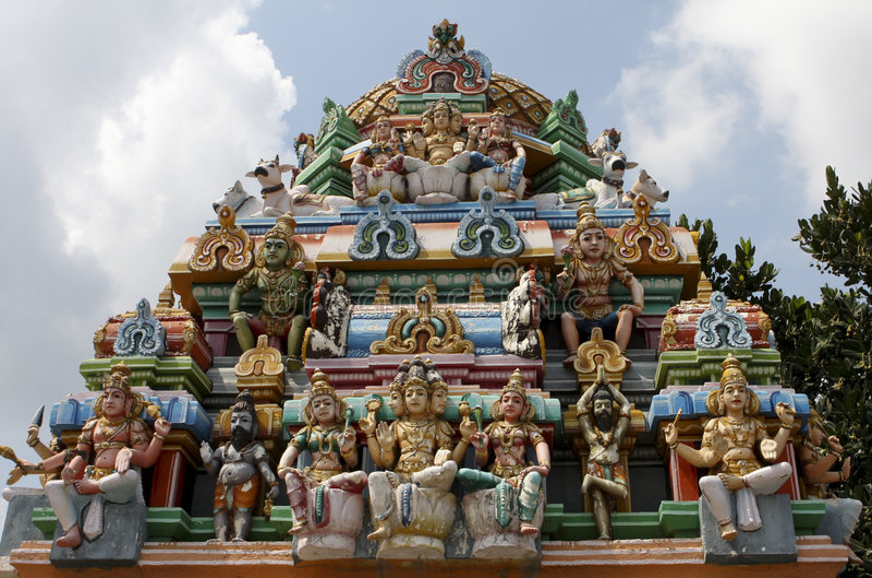 Kapaleeswarar temple in Chennai stock photography