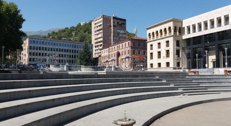 Kapan city in Syunik, Armenia royalty free stock photography