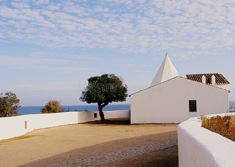 Kapel in Algarve royalty-vrije stock foto