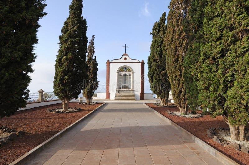 Kapel in Arona, Tenerife royalty-vrije stock fotografie